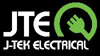 Logo for J-Tek Electrical, electrical services in Hobart